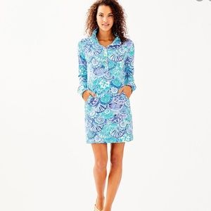 Lilly Pulitzer-upf 50+ captain popover dress